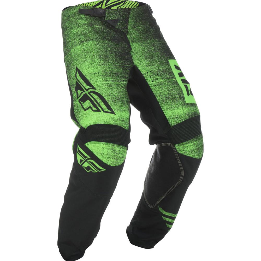 Fly - 2019 Kinetic Noiz Neon Green/Black штаны, зелено-черные
