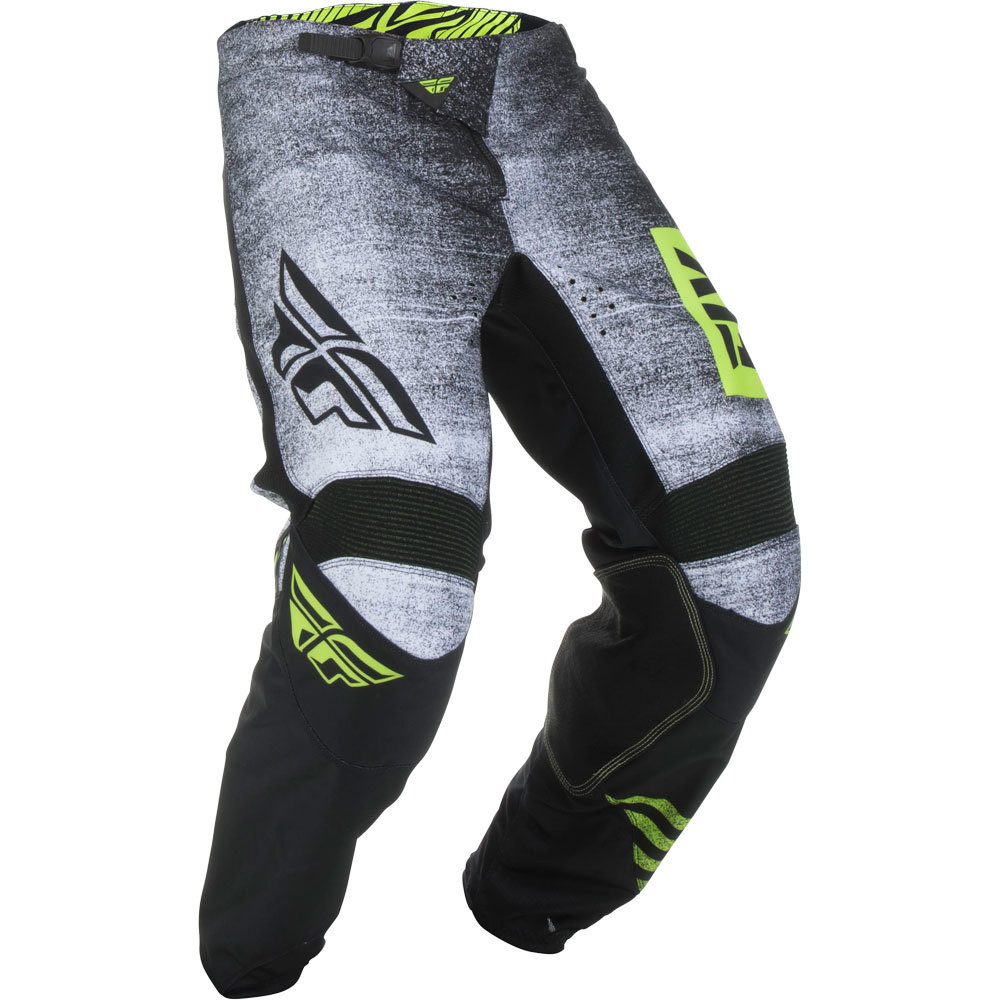 Fly - 2019 Kinetic Noiz Black /Hi-Viz штаны, Hi-Viz-черные