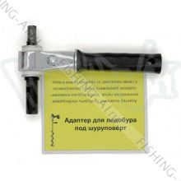 Адаптер для ледобура под шуруповерт 22 мм