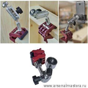 Держатель для камер, лазеров, уровня, нивелиров для распорок Piher Multi Prop с переходниками 34061 М00017390