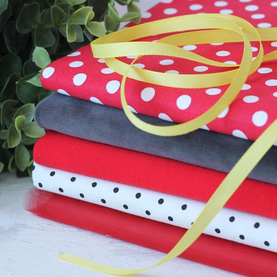 Набор тканей для творчества Минни Маус