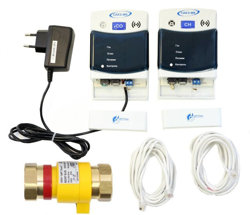 САКЗ-МК-2-1А DN 20 Система загазованности CO+CH4
