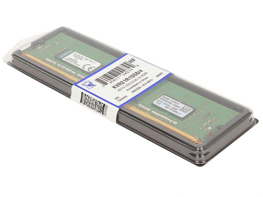 Оперативная Память DDR4 Kingston KVR21R15S8/4