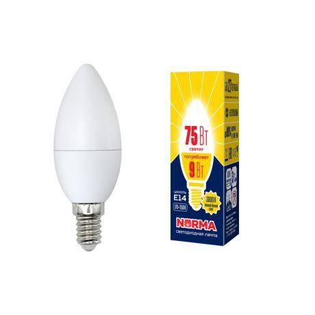 Светодиодная лампа NORMA LED-C37-9W/WW/E14/FR/NR
