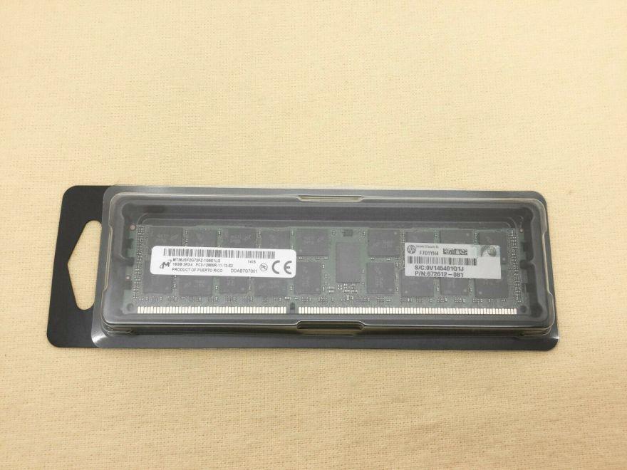 Оперативная память HP 16GB (1x16GB) Dual Rank x4 PC3-12800R Reg, 672612-081