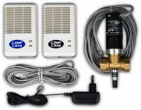 Бытовая система контроля загазованности СГК-2-Б СарГазКом на природный газ метан (CH4) и угарный газ (оксид углерода)