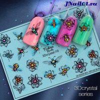 Fashion Nails, Слайдер-дизайн 3Dcrystal-10