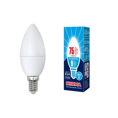 Светодиодная лампа NORMA LED-C37-9W/NW/E14/FR/NR