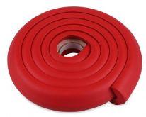 Мягкая защита на углы Protective Stripe Beideli, 200х5х1 см, красный