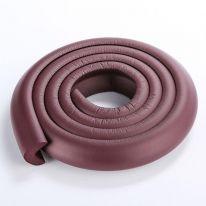 Мягкая защита на углы Protective Stripe Beideli, 200х5х1 см, бурый