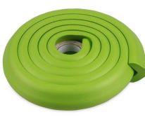 Мягкая защита на углы Protective Stripe Beideli, 200х5х1 см, зелёный