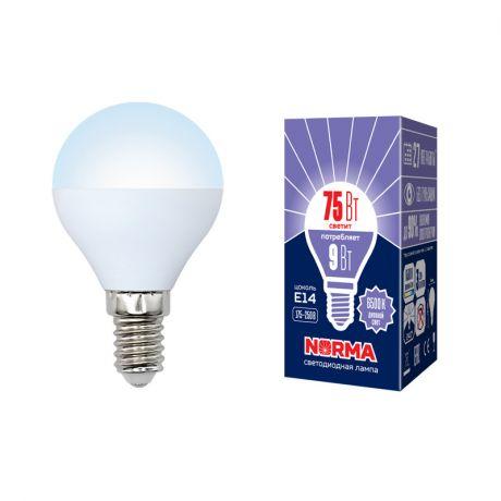 Светодиодная лампа NORMA LED-G45-9W/DW/E14/FR/NR