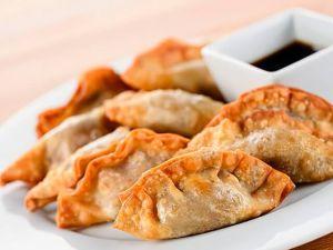 187 Пельмени жареные по-китайски домашние (фарш из говядины)