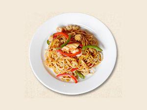 178 Рис жареный с морепродуктами