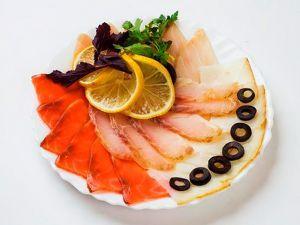 Рыбная тарелка 660г