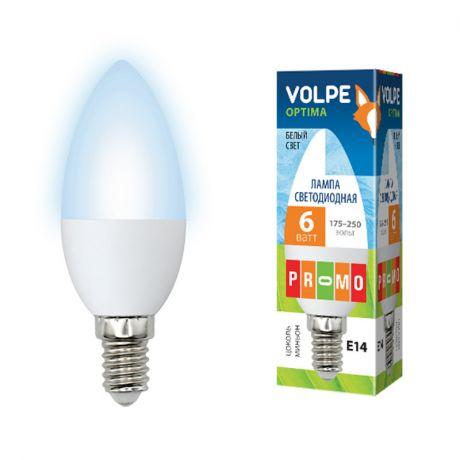 Светодиодная лампа серии Optima LED-C37-6W/NW/E14/FR/O