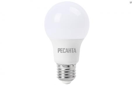 Лампа светодиодная РЕСАНТА LL-R-A60-7W-230-4K-E27