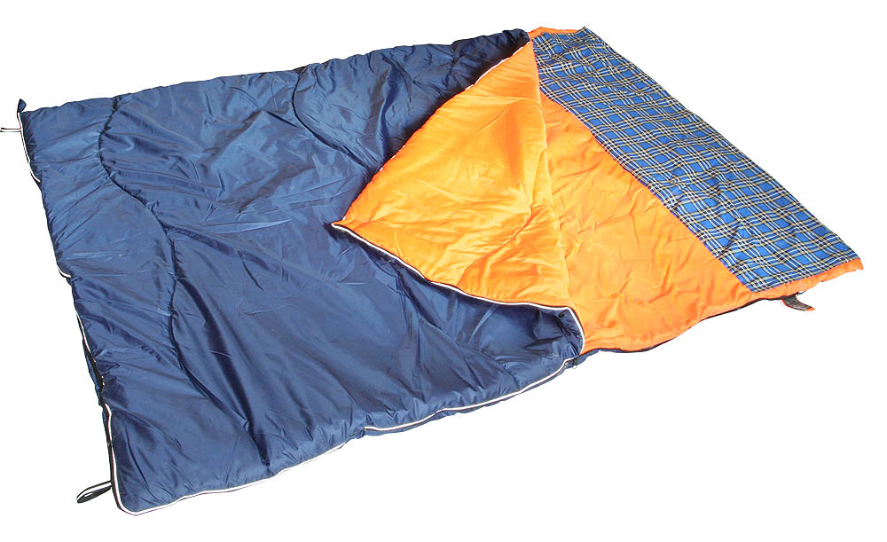 """Спальный мешок SM-311 """"Дуэт"""" одеяло с подголовником 218х148см"""