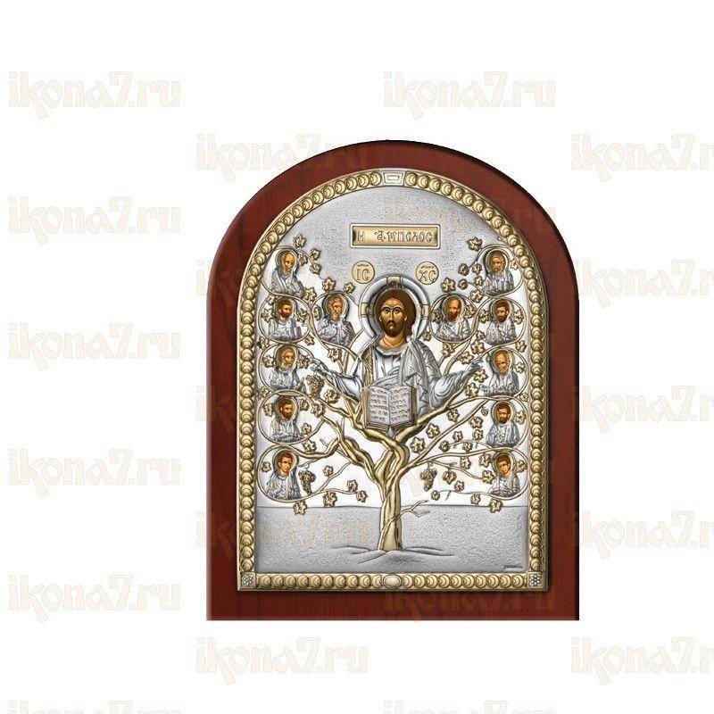 Икона Древо Жизни (Христос Виноградная Лоза)