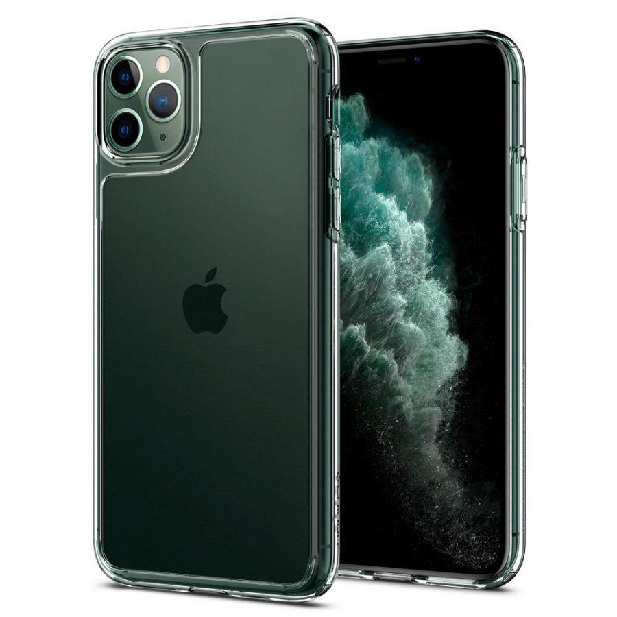Чехол Spigen Quartz Hybrid для iPhone 11 Pro кристально-прозрачный