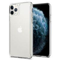 Купить чехол Spigen Quartz Hybrid для iPhone 11 Pro прозрачный чехол для Айфон 11 Про в Москве в интернет магазине аксессуаров для смартфонов elite-case.ru