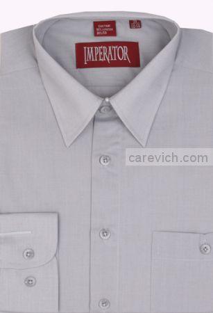 Рубашка подростковая Imperator (14-18 лет) выбор по размерам арт. 17 Pale Grey -П