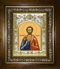 Икона Богдан Адрианопольский мученик (14х18)