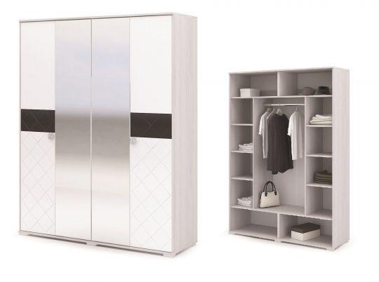 Шкаф 4-х дверный Сальма ШК 024