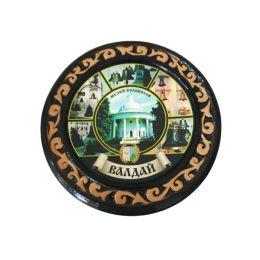 """Шкатулка """"Музей Колоколов"""" (керамика, глазурь)."""