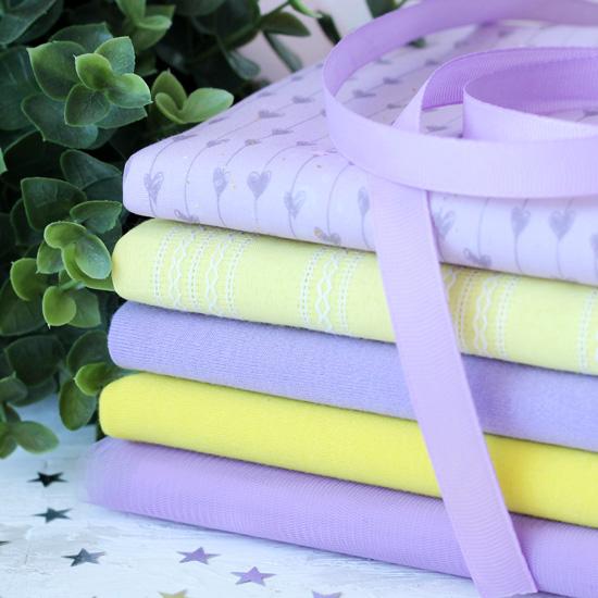 Набор тканей для пошива Лавандовое чудо