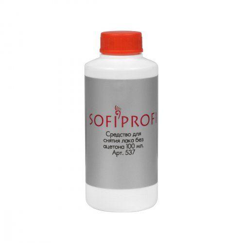 Средство для снятия лака без ацетона, 100 мл   SOFIPROFI