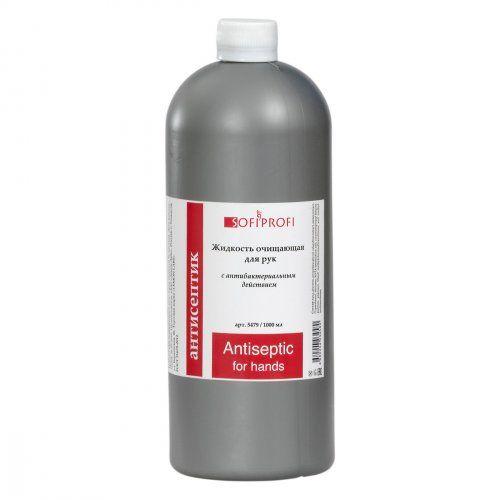 Жидкость-дезинфектор для рук,  антисептик 1000 мл SOFIPROFI