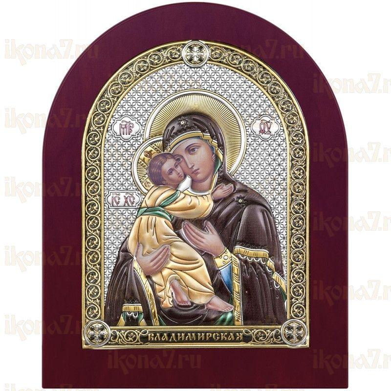Владимирская Икона БМ с деревянной рамкой