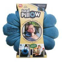 Подушка-трансформер для путешествий Total Pillow (Тотал Пиллоу), синий