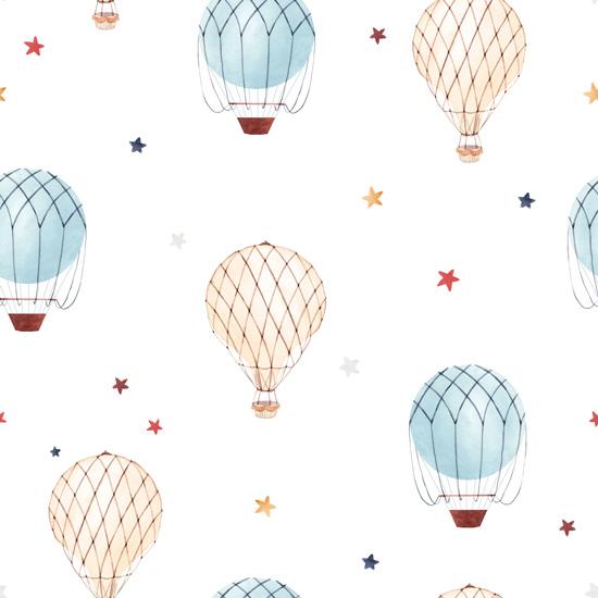 Хлопок Перкаль Воздушные шары 50х37