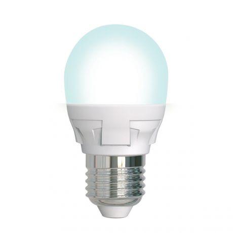 LED-G45 7W-4000K-E27-FR-DIM PLP01WH Лампа светодиодная. диммируемая. Uniel