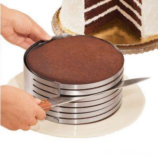 Форма-слайсер для нарезки коржей Cake Slicing Tool