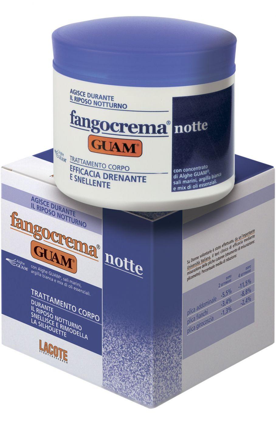 Ночной крем с разогревающим эффектом Fangocrema