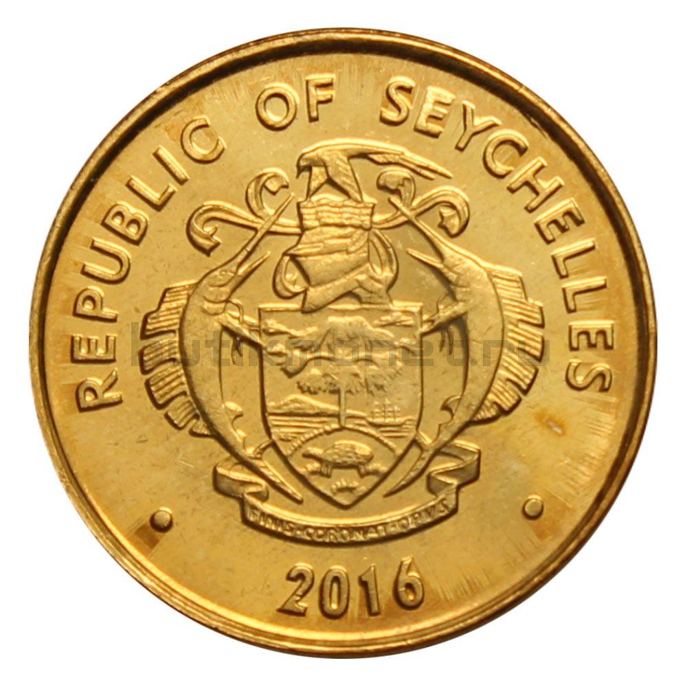 1 цент 2016 Сейшелы