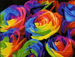 Картина по номерам «Радуга» 40x50 см