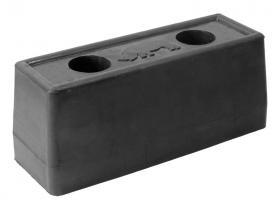 Резиновый отбойник 190х67х80 мм (Арт.: 2009)