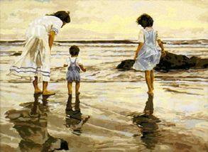Картина по номерам «На берегу» 40x50 см