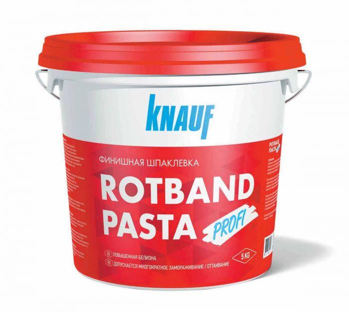 Шпатлевка готовая финишная Knauf Ротбанд Паста, 5 кг