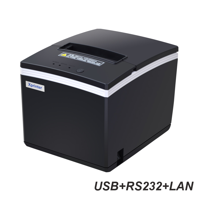 Принтер чеков Xprinter XP-N260H (USB+RS232+LAN)