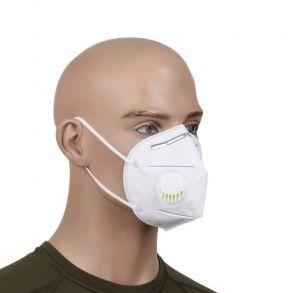 Респиратор-маска для лица KN95 с клапаном (степень защиты FFP2)