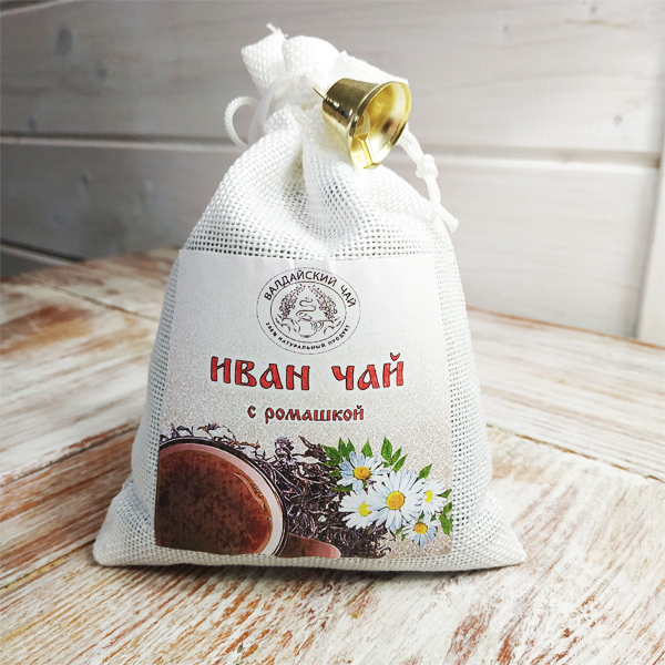 Иван-чай с ромашкой ферментированный (мешочек)
