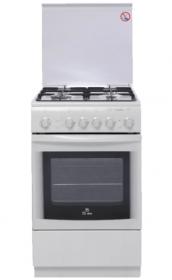 Газовая плита DE LUXE 5040.41Г (951900) Белая