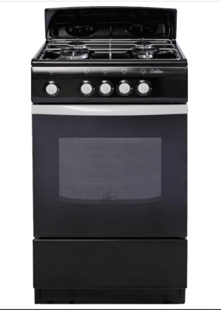 Газовая плита DE LUXE 5040.38Г (951120) Черная