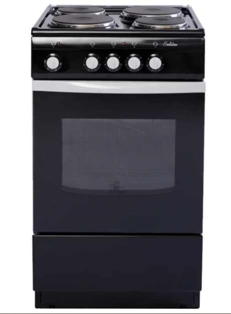Электрическая плита DE LUXE 5004.12Э (998620) Черная