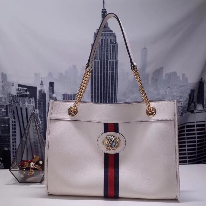Gucci Rajah Big Lather Tote 45 cm